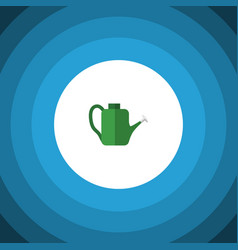 Isolated watering can flat icon bailer vector