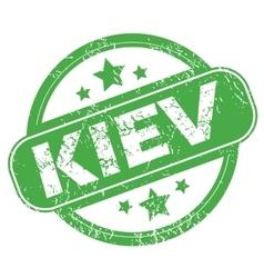 Kiev green stamp vector