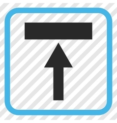 Move top icon in a frame vector