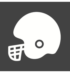 Cricket helmet vector