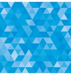 Abstract geometric background of triangular vector