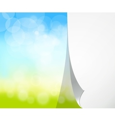 Blurred natural background vector