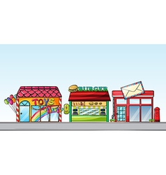 Different stores vector
