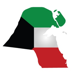 Kuwait flag vector