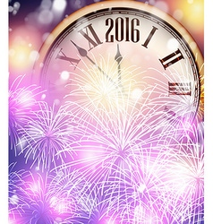 2016 new year background vector