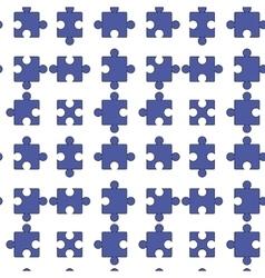 Seamless jigsaw pattern vector