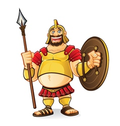 Fat Goliath vector image vector image