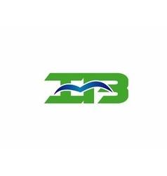 iB logo vector image