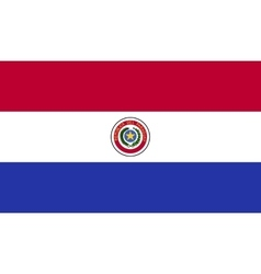 Paraguay flag image vector