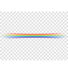Rainbow icon realistic 6 vector image