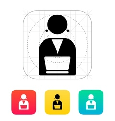 Broadcaster icon vector