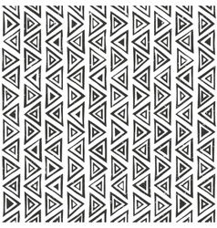 Abtract geometric pattern with triangles hand vector