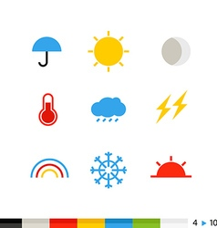 Different flat design web icons vector image vector image