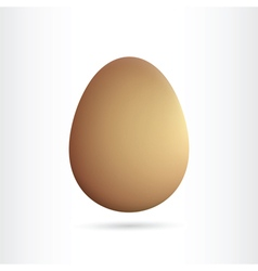 egg isolated vector image