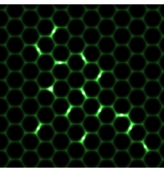 Honeycomb seamless pattern background vector image vector image