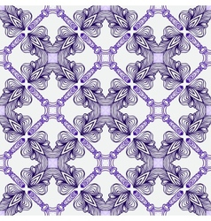 Luxury pattern with elegant spanish motifs vector