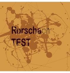 Projective rorschach technique or vector