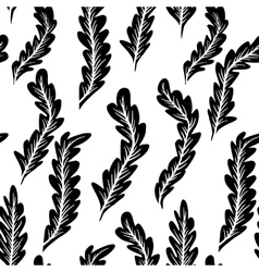 Abstract feathers pattern vector