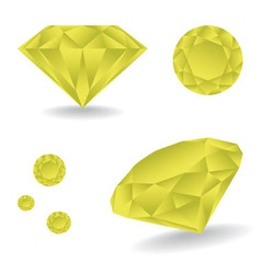 Diamonds vector image vector image
