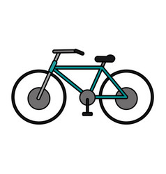 bycicle flat vector image