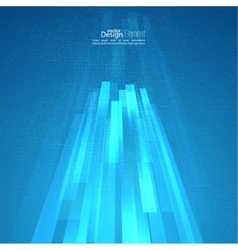 Abstract background with glowing grid vector