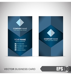 Business Card 004 vector image