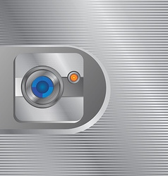 Camera photo and video interface vector