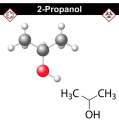 Isopropanol vector