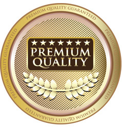 Premium quality gold icon vector