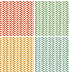 Seamless Retro Abstract Toothed Zig Zag Paper vector image vector image