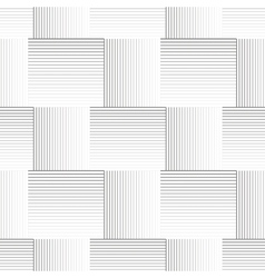 Striped geometric pattern vector image vector image