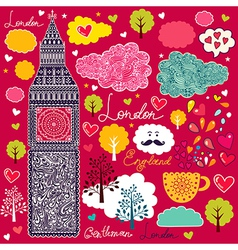 London background vector