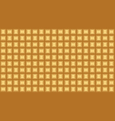 Gold chocolate seamless pattern vector