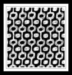 Ipanema beach pattern set vector