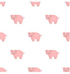 Piglet single icon in cartoon stylepiglet vector
