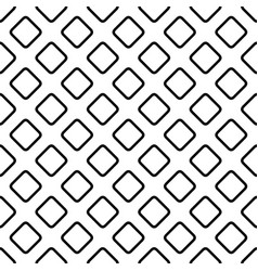 Seamless diagonal square pattern background vector