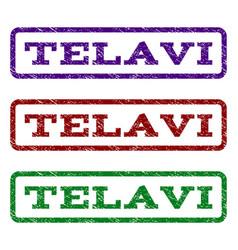 Telavi watermark stamp vector