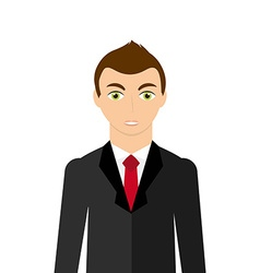 Businessman avatar vector