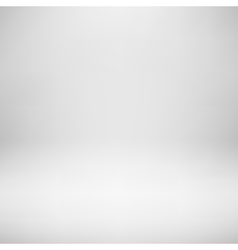 White empty studio background vector