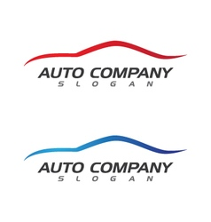 Auto car logo template vector