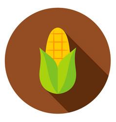 corn circle icon vector image vector image
