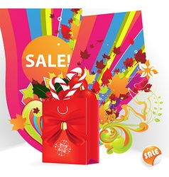 Sale promotion for all seasons vector