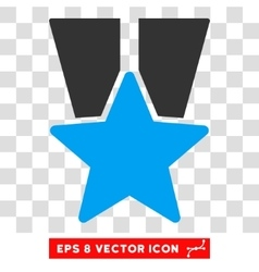 Star medal eps icon vector
