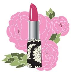 Decorative lipstick vector