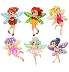 Fairies vector image vector image