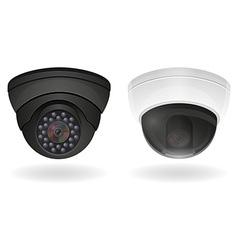 surveillance cameras 03 vector image vector image