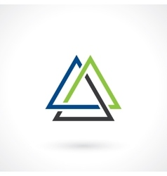 Triangular shape vector