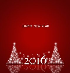 2016 happy new year background vector
