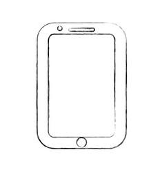 figure nice smartphone symbol icon design vector image