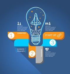Start Business Infographics vector image vector image